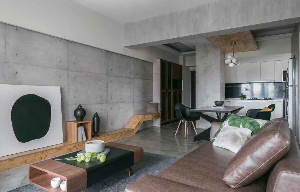 Beton look nova stuc design - Eigentijdse design decoratie ...